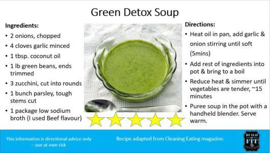 Soup 1: Green Detox