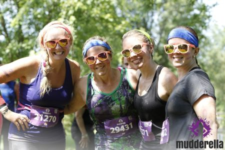 Mudderella Training - Race Day